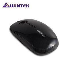 WiNTEK文鎧 1800 時尚超靜音無線滑鼠 2.4G  黑