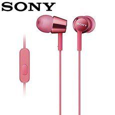 SONY 索尼 EX150AP 手機用密閉耳道式耳機麥克風 粉
