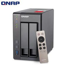 QNAP 威聯通 TS-251+ -2G 2Bay 網路儲存伺服器
