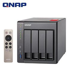 QNAP 威聯通 TS-451+ -2G 4Bay網路儲存伺服器