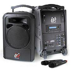 UR SOUND PA9220B 75W雙頻藍芽MP3移動式無線擴音機