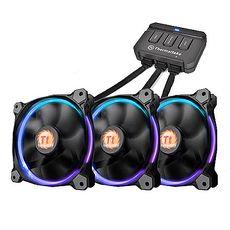Thermaltake曜越 Riing RGB 256色 LED風扇(三風扇組12公分)