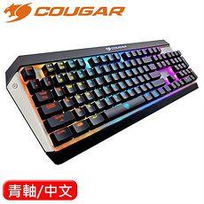 COUGAR 美洲獅 Attack X3 RGB機械鍵盤 Cherry 青軸