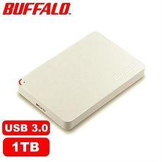 BUFFALO PCF 1TB 2.5吋 日本轻巧硬盘-白色