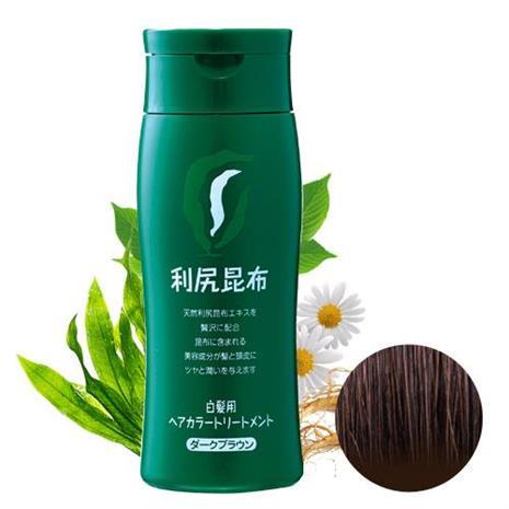 Sastty 利尻昆布染髮劑-咖啡色(深棕色) 日本第一台灣代理 染髮過敏的救星