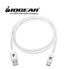 美国IOGEAR USB-C转Type-A公连接线-白色