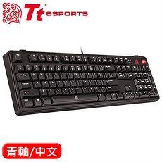 Thermaltake 曜越 拓荒者 Lite 無背光機械鍵盤 Cherry 青軸 中文