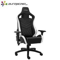 B.Friend GC05 電競專用椅 白黑
