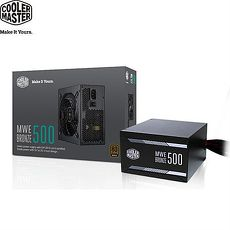 Cooler Master MWE500 銅牌電源供應器