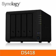Synology DS418 4Bay 網路儲存伺服器