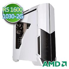 技嘉B350平台【天空戰士】AMD Ryzen六核 GT1030-2G獨顯 1TB效能電腦