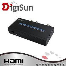 DigiSun SD312 SDI 一進二出訊號分配器