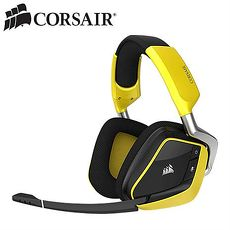 CORSAIR 海盜船 VOID PRO RGB 無線7.1聲道耳機麥克風 黃