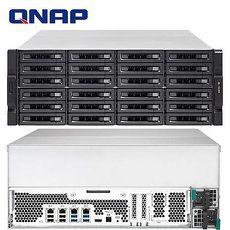 QNAP 威聯通 TVS-EC2480U-SAS-RP-8GE-R2 24Bay NAS 網路儲存伺