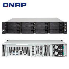 QNAP 威聯通 TS-1253BU-RP-4G 12Bay NAS 網路儲存伺服器