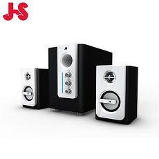 【現代氣質款】JS 淇譽 JY3060 2.1聲道 3件式 全木質多媒體喇叭