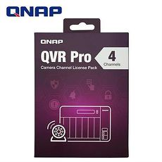 QNAP 威聯通 QVR Pro LIC-SW-QVRPRO-4CH 攝影機頻道擴充授權-4個頻道
