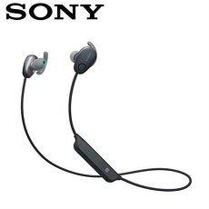 【公司貨-非平輸】SONY 無線降噪入耳式耳麥 WI-SP600N-B 黑