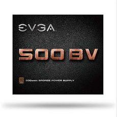 艾維克EVGA有福銅享500W BV 80PLUS 銅牌電源供應器