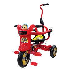 【BabyTiger虎兒寶】OPEN將 MIT 魔法摺疊後控童車 蕃茄紅