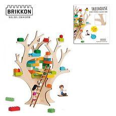 【Babytiger虎兒寶】荷蘭 BRIKKON 益智遊戲板 我的秘密樹屋