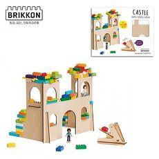 【Babytiger虎兒寶】荷蘭 BRIKKON 益智遊戲板 多多的城堡