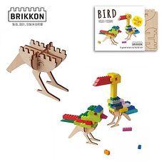 【Babytiger虎兒寶】荷蘭 BRIKKON 益智遊戲板 啾啾小鳥兒