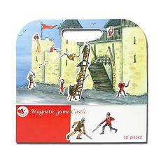 【Babytiger虎兒寶】比利時 Egmont Toys 艾格蒙繪本風遊戲磁貼書 - 守護快樂城堡~特賣