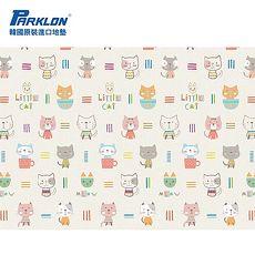 【BabyTiger虎兒寶】PARKLON 韓國帕龍無毒地墊 - 單面切邊【貓咪】~特賣