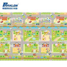 【BabyTiger虎兒寶】PARKLON 韓國帕龍無毒地墊 - 單面切邊【車車迷宮】~特賣
