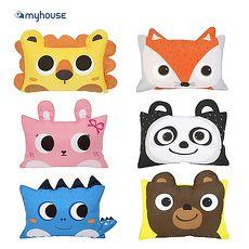 【Babytiger虎兒寶】MYHOUSE 韓國防?抗敏可愛動物夥伴雙面枕頭套 - 六款枕頭套-小熊(正反面相