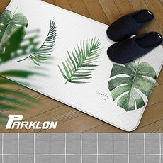【BabyTiger虎兒寶】PARKLON 韓國帕龍 - 雙面多用途長地墊 -【綠葉】廚房墊/走道墊