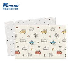 【BabyTiger虎兒寶】PARKLON 韓國帕龍 - 雙面加厚 1 . 2CM PVC 爬行地墊 -【汽車總動員】~特賣