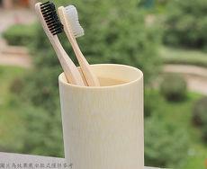 兒童 環保竹製牙刷 4入包裝 天然軟刷毛 原生毛竹 製作 無漆無蠟自然健康~E001~