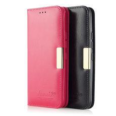 Savanna HTC One M9 真皮側掀隱形磁扣保護皮套