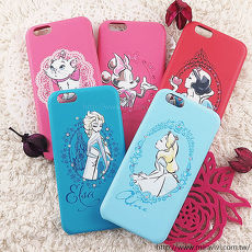 【Disney】迪士尼iPhone6 / 6S施華洛世奇水鑽4.7保護殼-公主系列6.6S-白雪公主