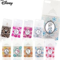 Disney迪士尼iPhone 7(4.7吋)閃粉雙料保護殼-指甲油系列貝兒