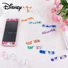 Disney迪士尼iPhone6/6s/7/8(4.7)共用 水彩渲染9H強化玻璃保護貼_公主貝兒