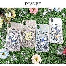 Disney迪士尼iPhone X/Xs五彩貝殼系列手機殼_花圈系列