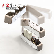 【品愛生活】COOKTIME 系列360度高級廚房調味瓶置物架(須打孔)