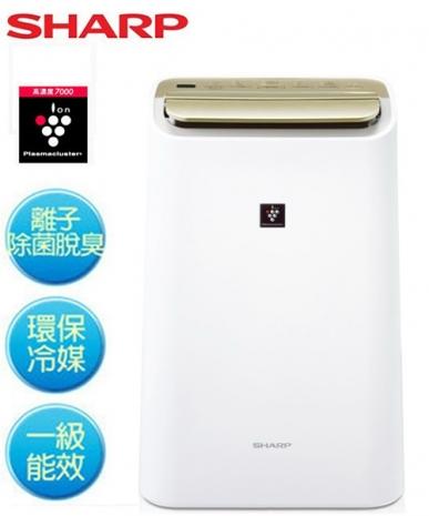 『SHARP夏普』10L自動除菌離子溫濕感應清淨&除濕兩用機 DW-E10FT