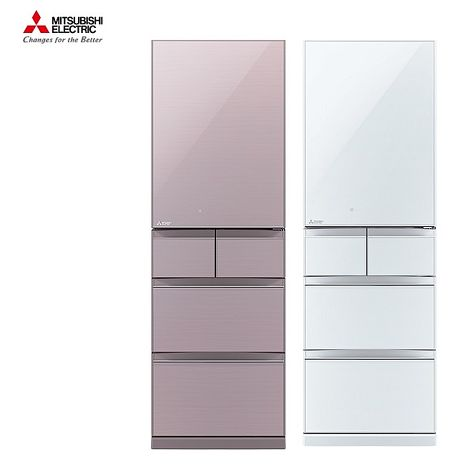 (結帳驚喜價)├ MITSUBISHI ┤三菱 455公升五門 日本原裝 五門 變頻 冰箱 MR-BC46Z 基安+舊機回收水晶白-W