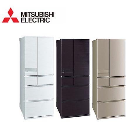 ├MITSUBISHI ┤ 三菱 605L六門 變頻電冰箱 MR-JX61C 含基本安裝+舊機回收(冰箱特賣)玫瑰金-N