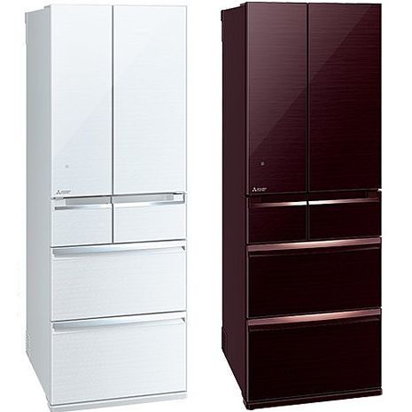 ├MITSUBISHI┤ 三菱 525L六門變頻日製冰箱 MR-WX53C 含基本安裝+舊機回收白色-W
