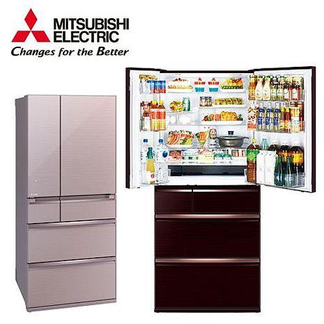 (結帳驚喜價)├MITSUBISHI ┤ 三菱電機 705L 日製六門變頻冰箱 MR-WX71C *含基本安裝+舊機回收*水晶棕