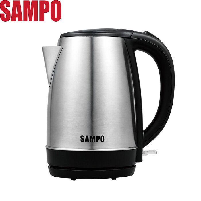 SAMPO 聲寶 1.7L不鏽鋼快煮壺 KP-CF17S-