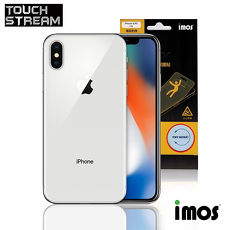 iMos Touch Stream iPhone X (背面)非滿版霧面保護貼