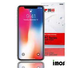 iMos 3SAS iPhone Xs Max 6.5吋 非滿版超抗潑水疏油效果保護貼